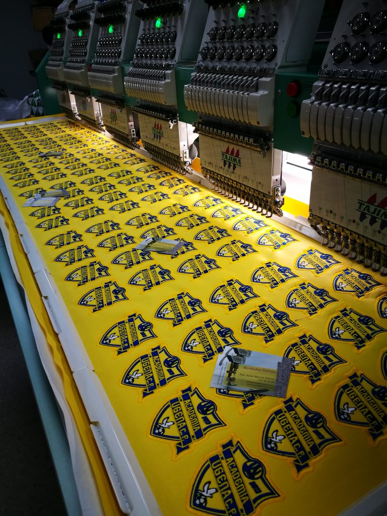 Escudos para la academia futbol ugema